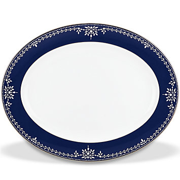 $278.00 Marchesa Empire Oval Platter